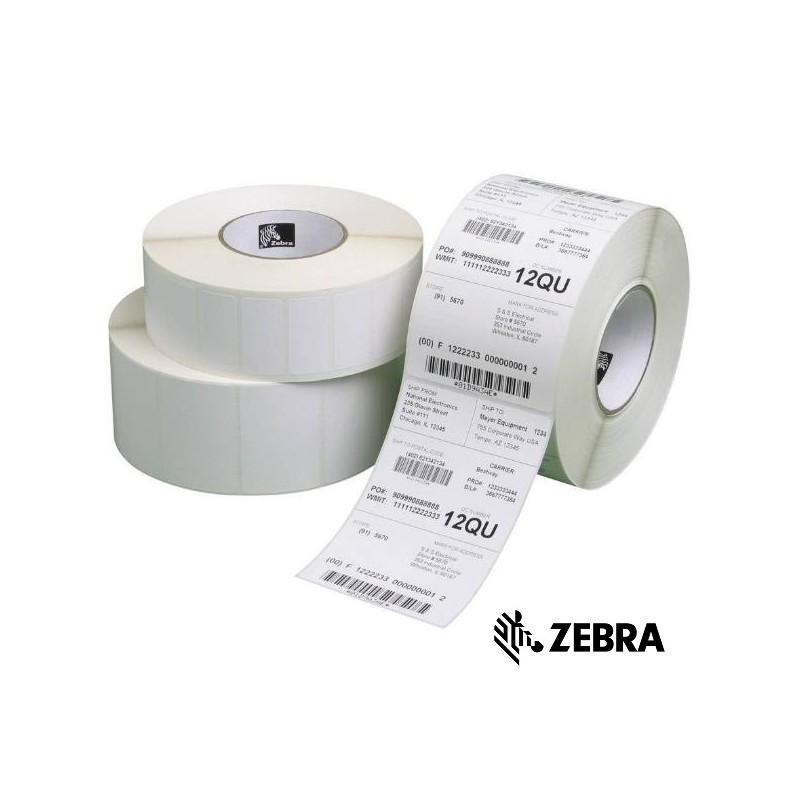 Etichette termiche 10,2 x 10,2 cm Citizen 2 rotoli 101,6 x 101,6 mm 500 rotoli per Zebra Toshiba 1000 etichette