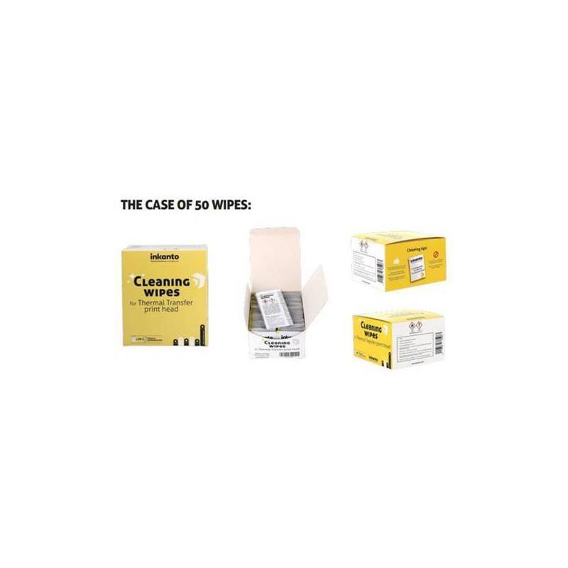 Salviette pulizia testina termica box 50 pz Armor Inkanto VA001IO