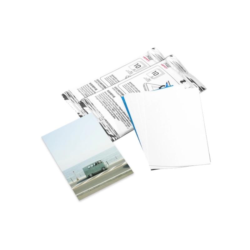 "ABD box 20 pcs photo card ZINK 2x3"" (51x76 mm) per MT53 retro adesivo"